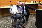 Councilmember Sherman Honors Tierrasanta Community Advocate Rich Thesing