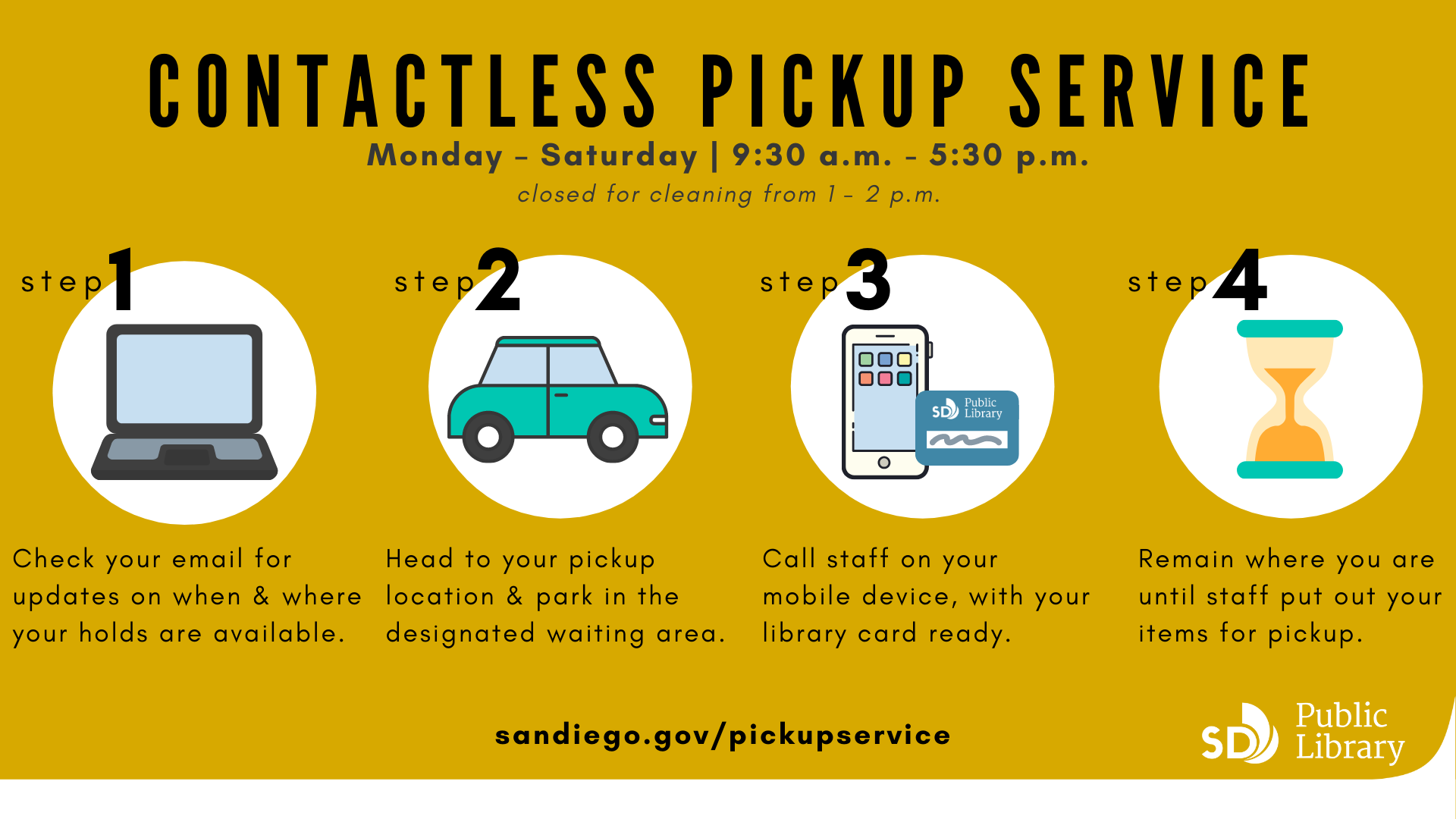 Contactless Pickup Service graphic