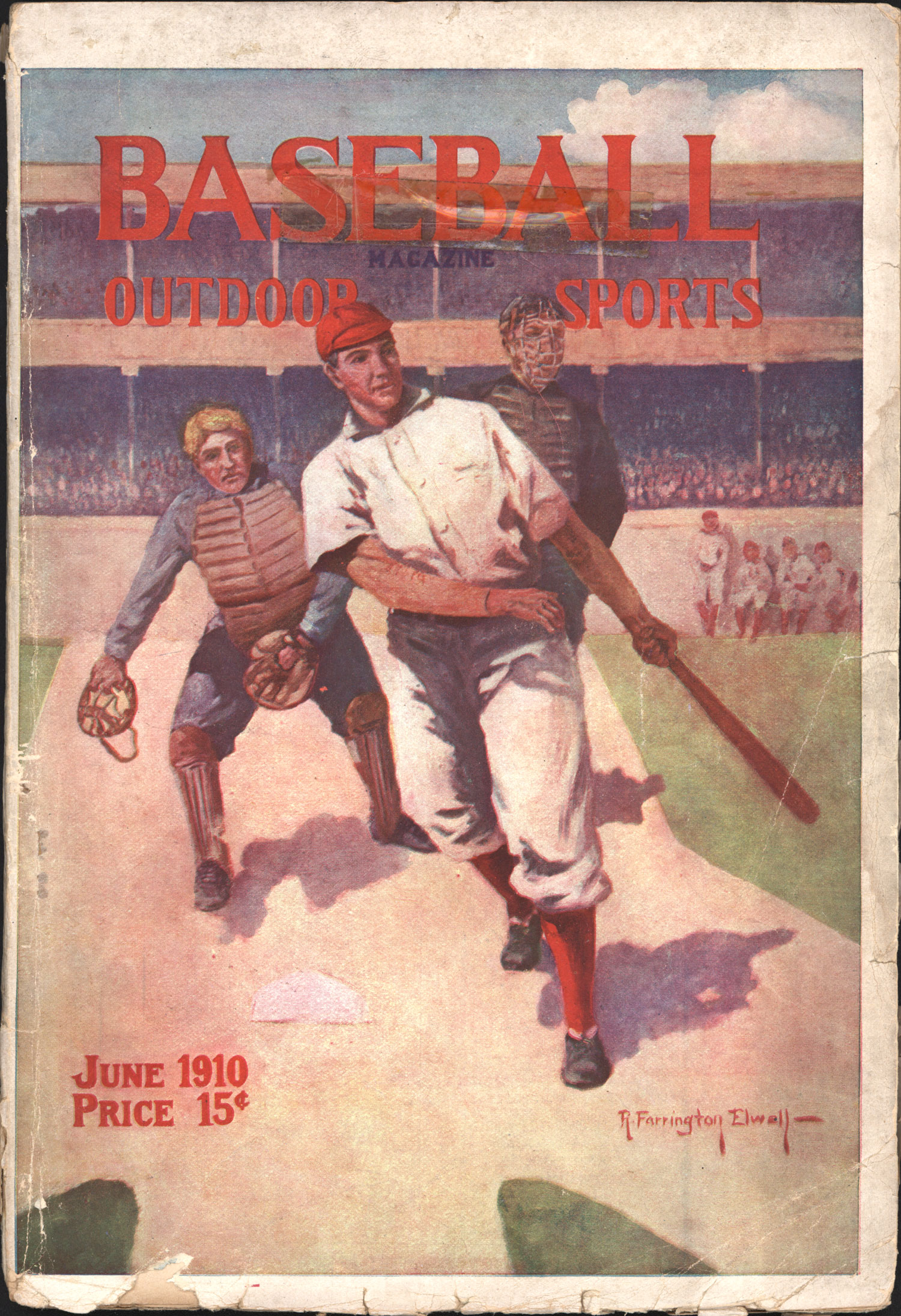 Photo of Baseball Magazine June 1910