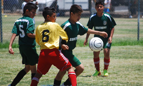 Photo of Kids Playing Soccer